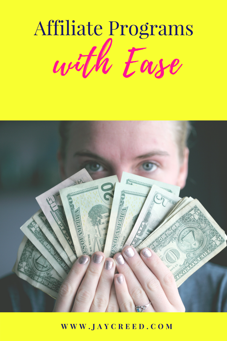 Besides working with sponsors, affiliate programs is one of my favorite (and easiest) way to monetize your blog/website.