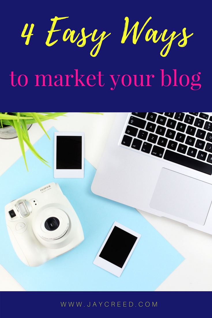 You have to market your blog to grow your audience. I'm sharing 5 easy ways to market your blog and does not require you to break the bank.