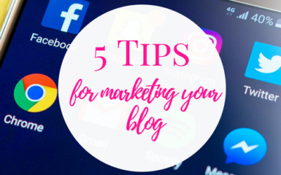 5 Tips for Marketing Your Blog