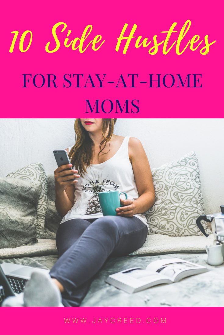 However, moms do like to find was to save money and find a way to earn some extra income from home. Having a side hustle or two can be way to earn extra money. Below are 10 jobs that are perfect fo stay at home moms (or dads).