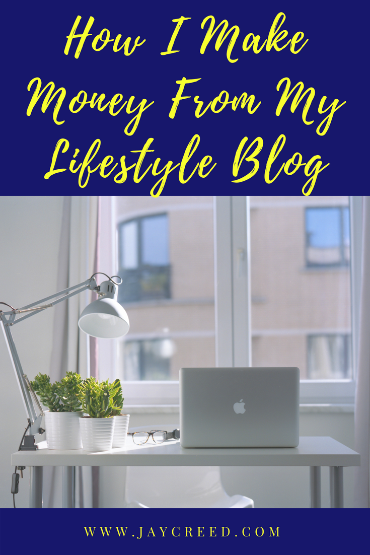 I wanted to share how I make money blogging. I've learned over time, it is good to have more than one revenue stream for earning an income from blogging.