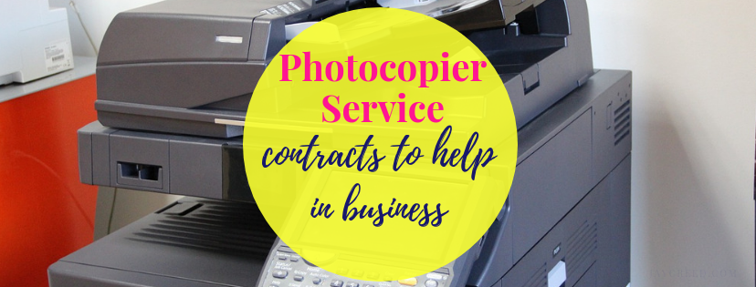 Photocopier Service Contracts to Help in Business
