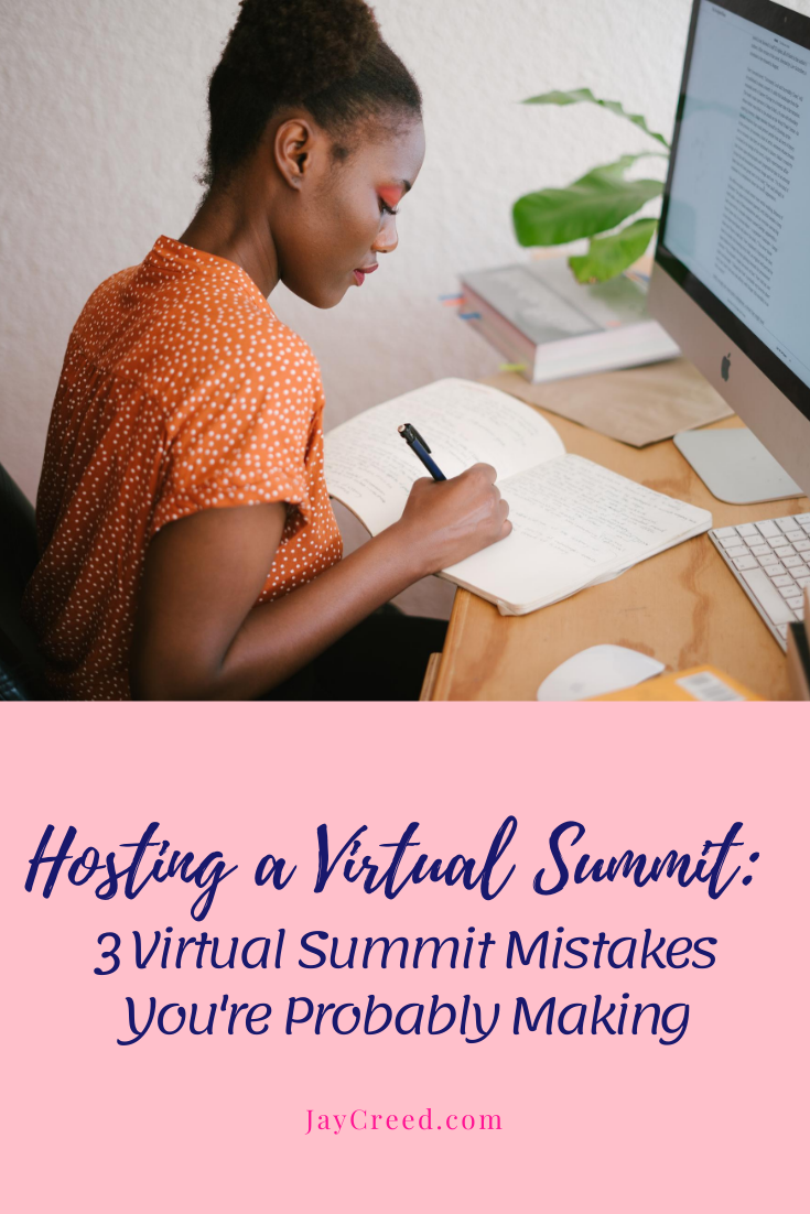 Virtual summits are becoming more popular and if you are hosting one, it will be an amazing experience. The virtual summit will help you to grow your list, make connections with others, make some money, and showcase your expertise.   But you can't do any of that if you're making rookie mistakes.